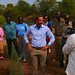 UNDP Goodwill Ambassador HRH Crown Prince Haakon of Norway planted a treet by the Victoria falls in Livingstone
