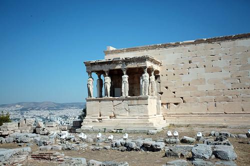 Acropoli: portichetto delle cariatidi, Eretteo
