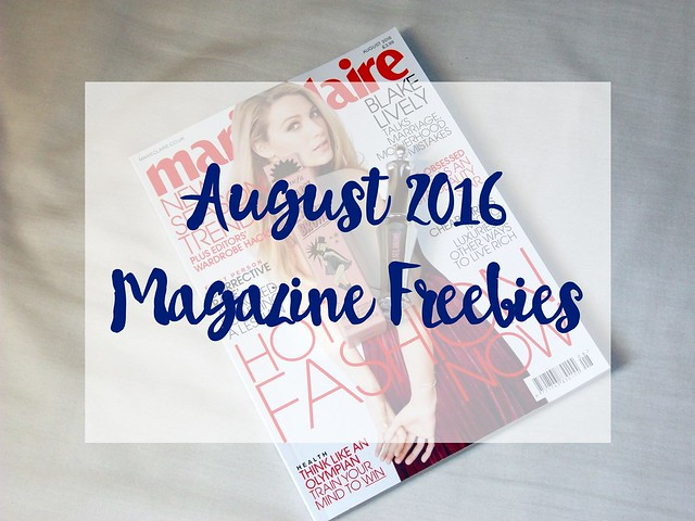 Magazine Freebies August 2016