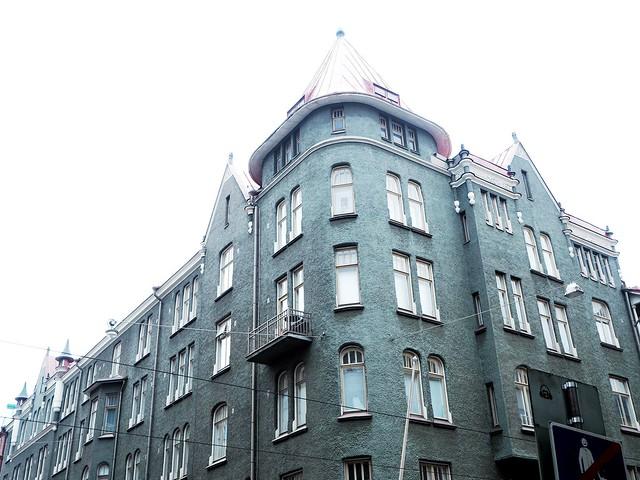 inner helsinki, kantakaupunki, main city, old buildings, vanhat talot, rakennus, building, helsinki, finland, bulevardi, bulevard, green house, vihreä talo,