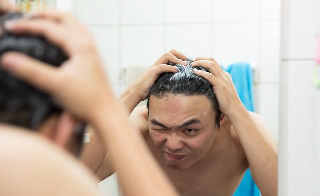我沒有禿只是髮線比較高!未雨綢繆『DR CYJ 髮胜肽』家用商品系列試用分享 @3C 達人廖阿輝