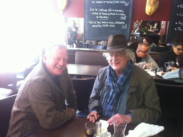 Craig Johnson et Bertrand Tavernier Quais du polar Lyon 2012