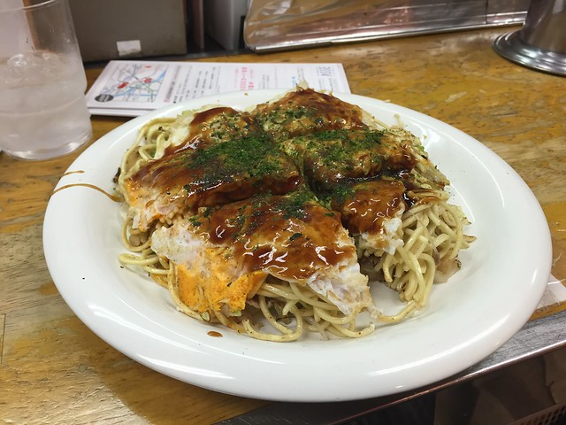 Okonomiyaki - Japan food guide