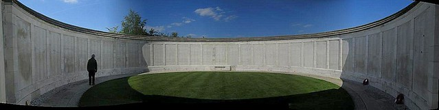 Tyne Cot Cemetery, Inset into Memorial Wall