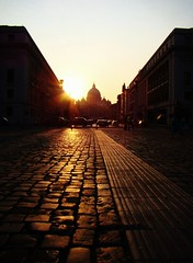 Vatican Sunset by YSINGL