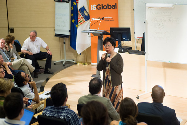 The Director-General of the World Health Organization, Margaret Chan, Visits ISGlobal