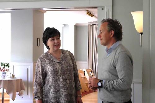 Annika Berge och Markus Höglund