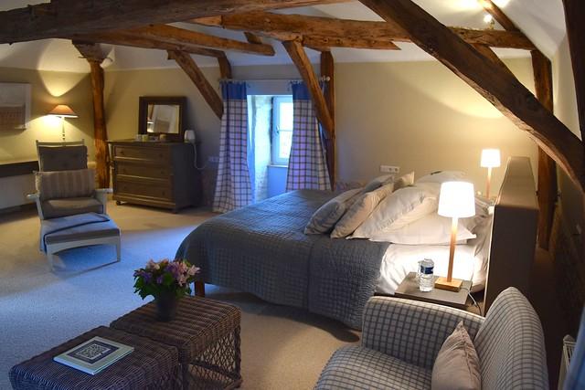 Blue Bedroom at Manoir de Malagorse   www.rachelphipps.com @rachelphipps