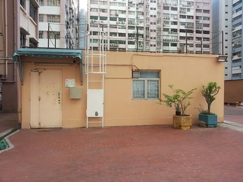 消防泵房改建的辦公室 ﹝照片由薛先生提供﹞