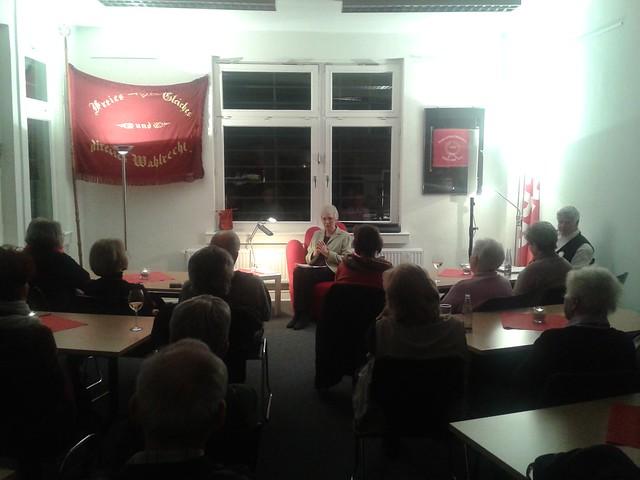 Der rote Sessel im Januar 2014