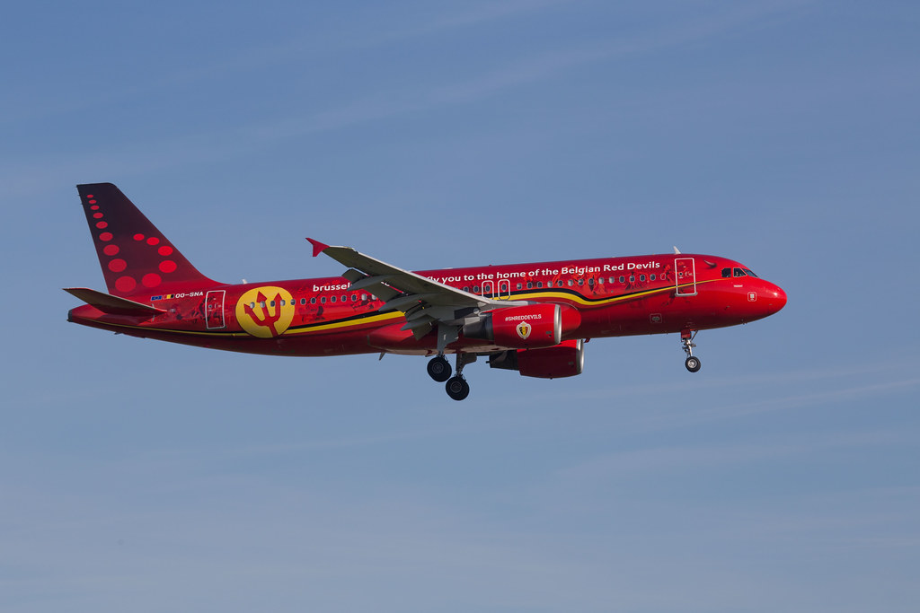 Brussels Airlines Trident Red Devils