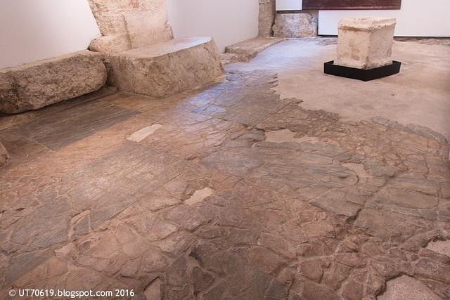 Fußboden der Basilika