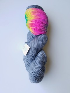 The Lemonade Shop Sparkle Sock (Stormy Day; no DL)