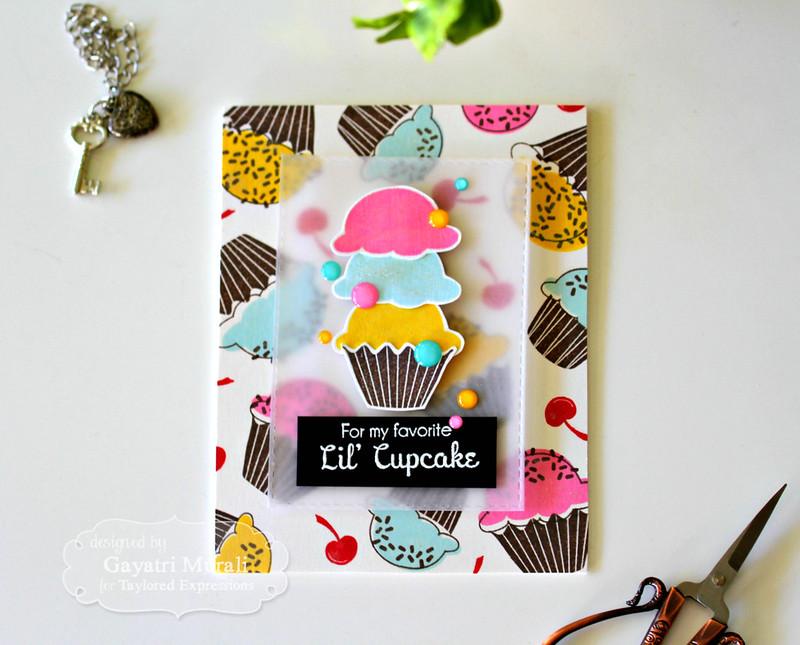 Lil's Cupcake flat by Gayatri Murali