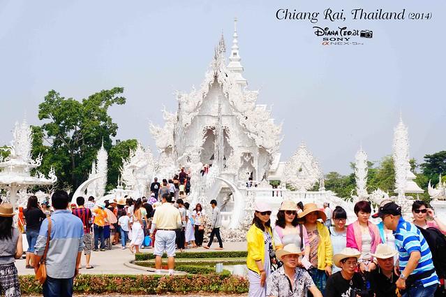 Thailand - Chiang Rai Wat Rong Khun 01