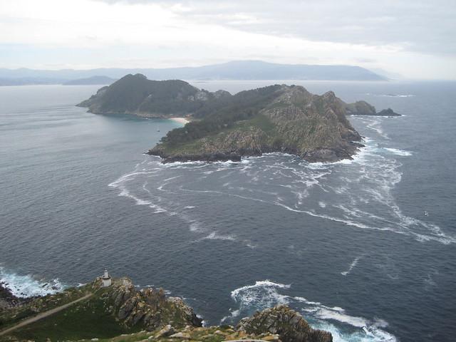 Isla Sur de las islas Cíes