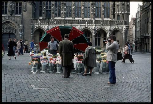 1981-04 Grand Place, Bruxelles