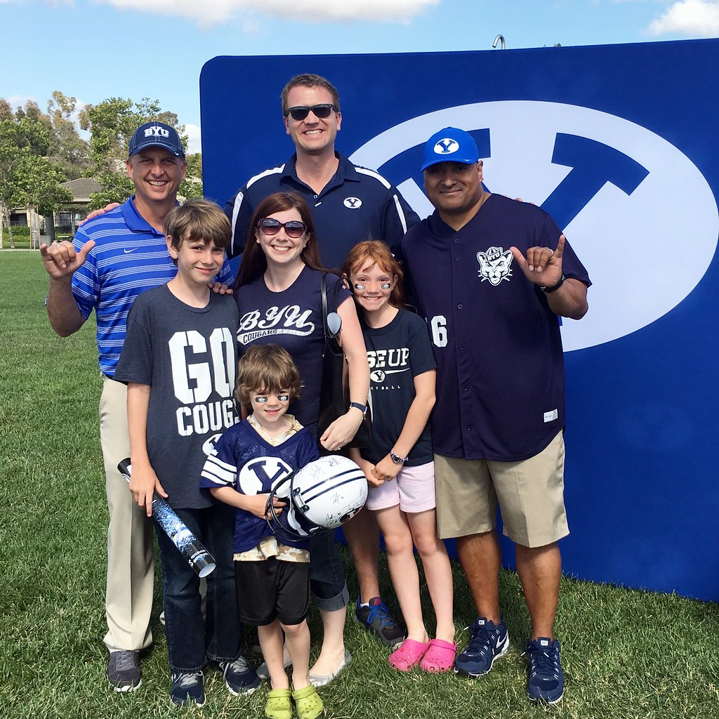 With BYU Football coaches