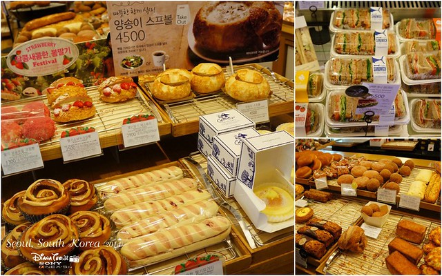 South Korea 2014 - Paris Baguette Cafe 2