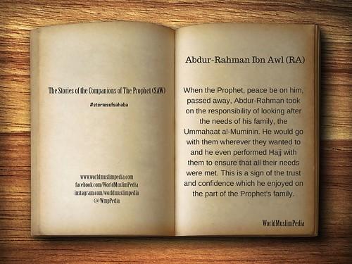 Abdur-Rahman Ibn Awl (RA)