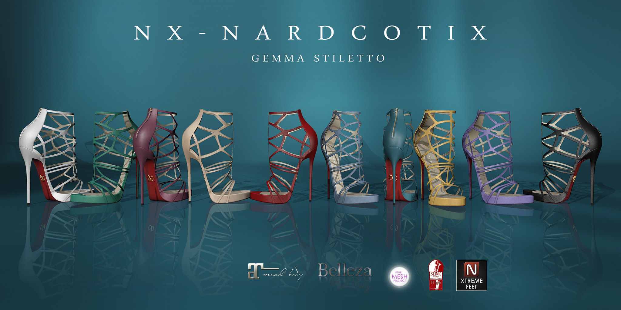 NX-Nardcotix Gemma Stiletto for Shiny Shabby