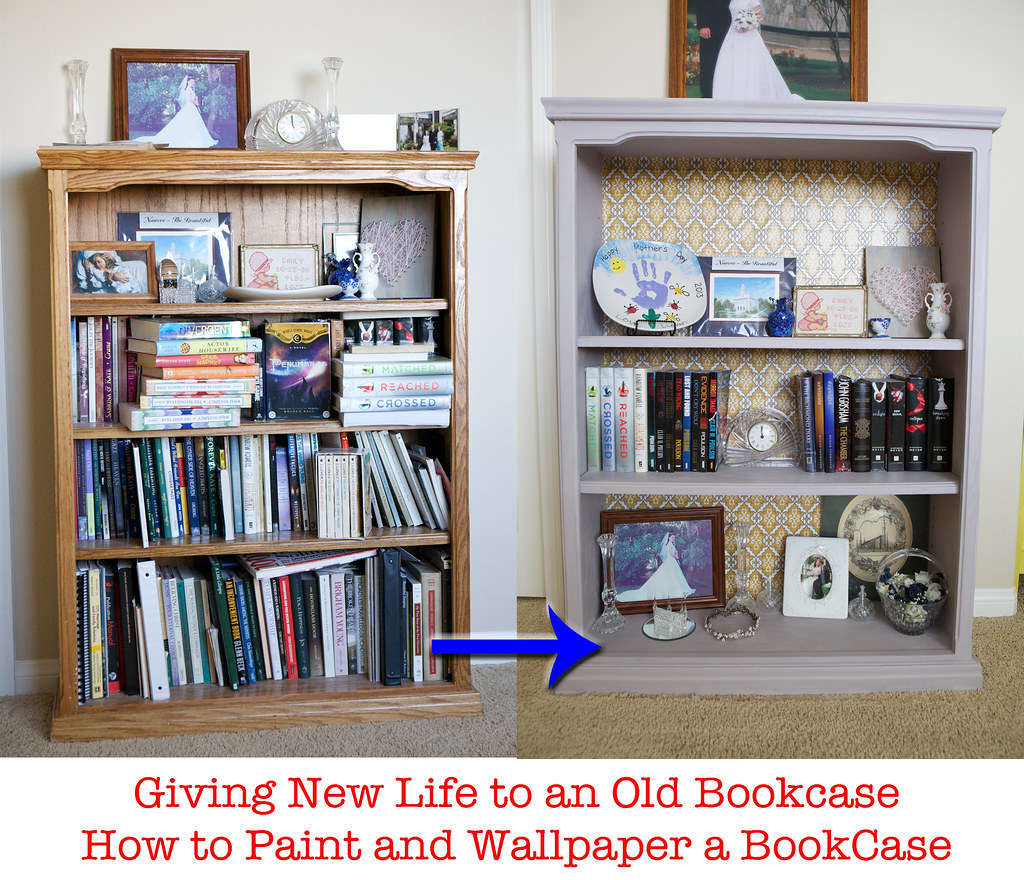 How To Paint A Bookcase