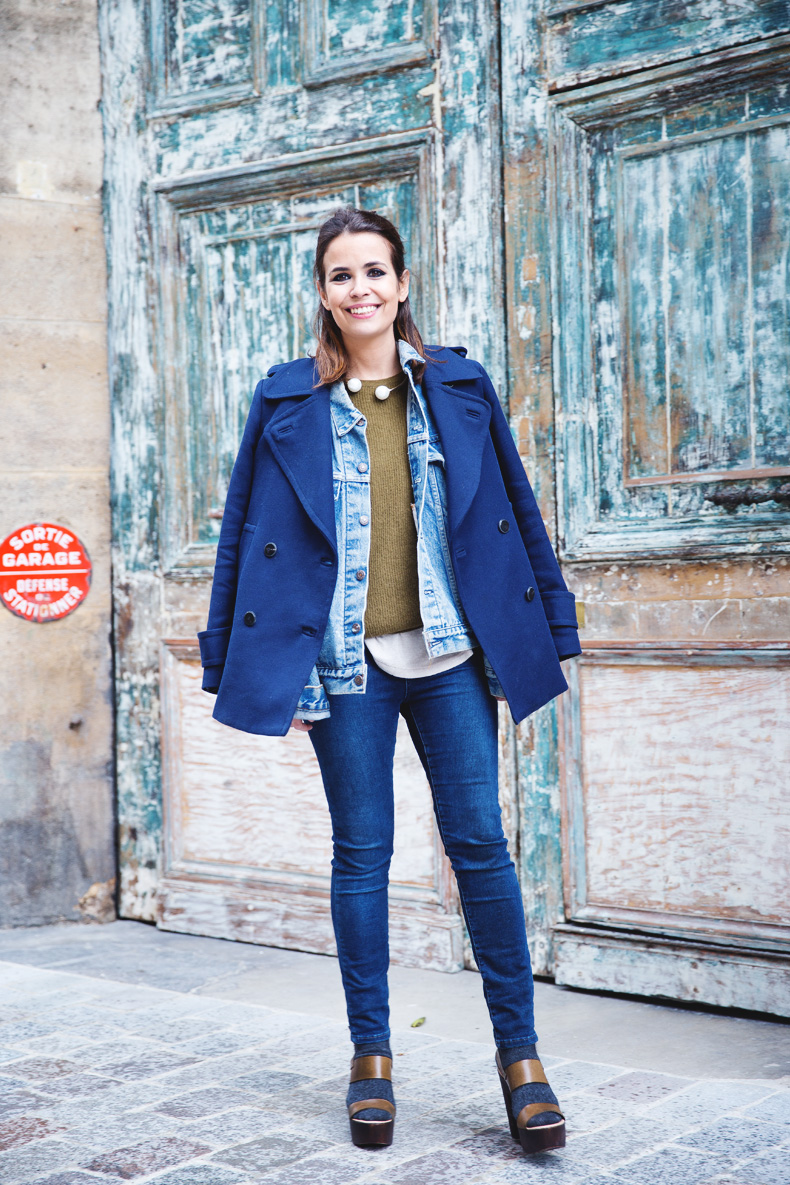 Double_Denim-Blue_Coat-Winter_Sandals-