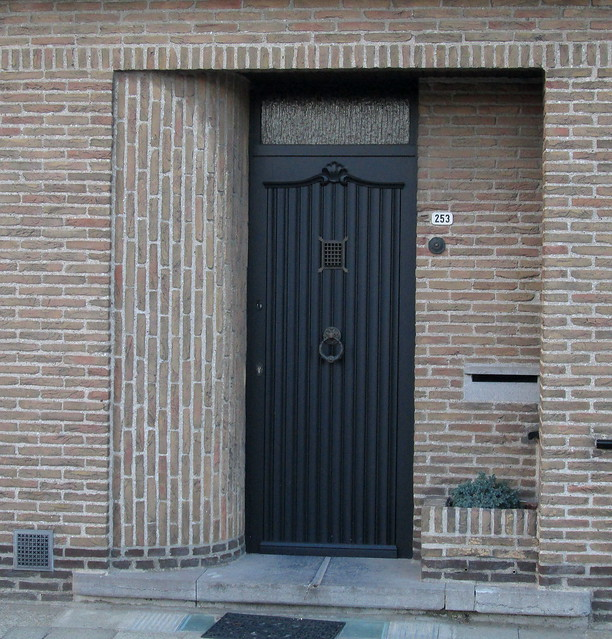 Art Deco, Brick Doorway, Ypres