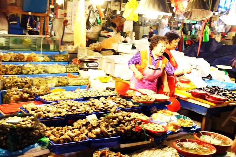 Norganjin Fish Market, Seoul, Korea