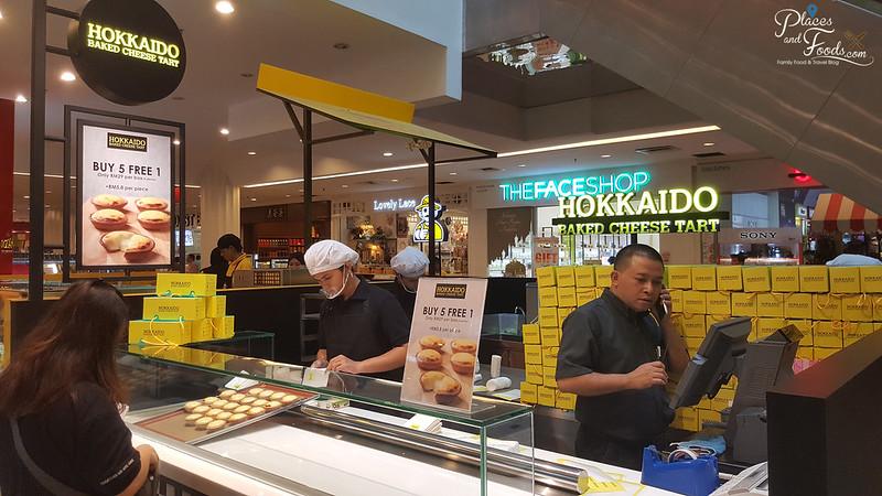 hokkaido baked cheesetart empire shopping mall