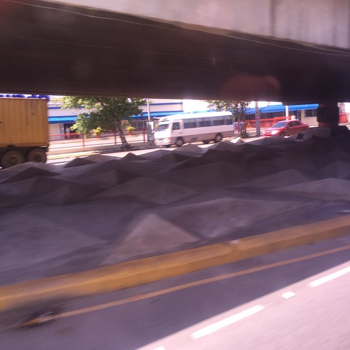 Under a bridge @ Santo Domingo
