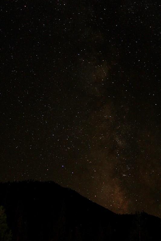 Milkway at Yosemite NP