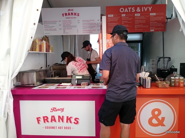 Fancy Franks, Oats & Ivy