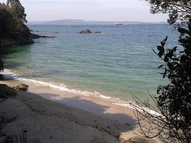 Playa de Morazón en Sada