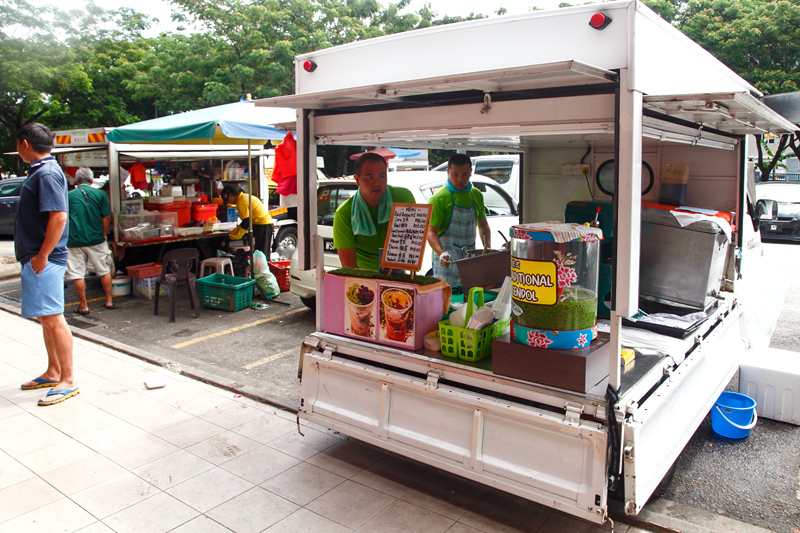 Traditional Cendol Food Truck Kepong