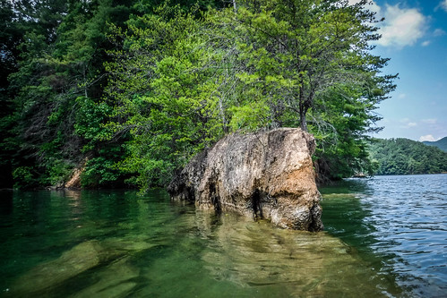 Lake Jocassee Kayaking-105