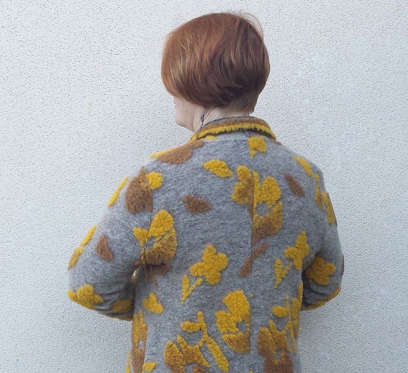 Style Arc Mason knit jacket in wool knit from The Cloth Shop
