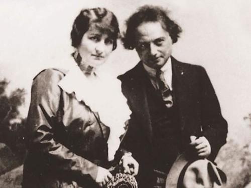 Franz Werfel e Alma Mahler Werfel