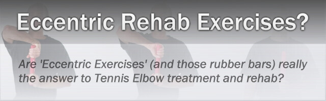 Thumbnail for Tennis Elbow & Rubber Bars: Is Eccentric Exercise Best For Tendon Rehab?