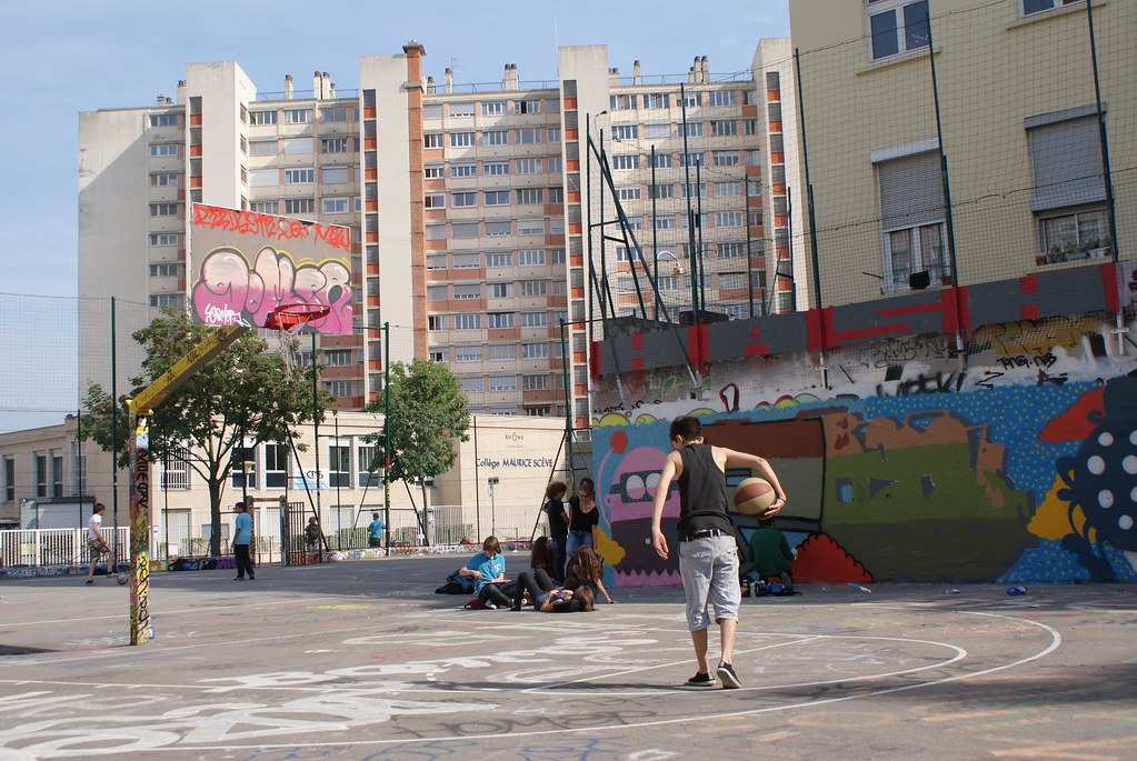 Playground à Lyon : Où jouer au basket ?