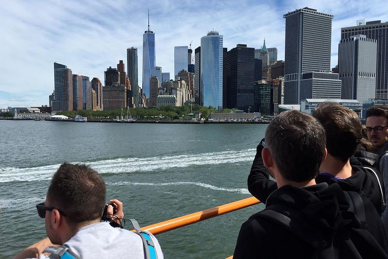 Manhattan from ferry