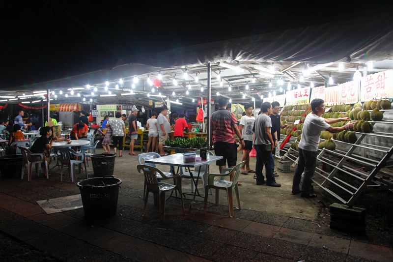Kepong Chen Brothers Durian Stall