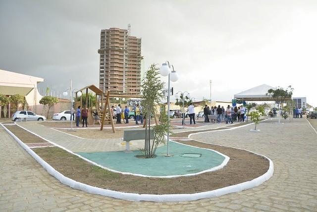 Inauguração de Praça e UPA 24h