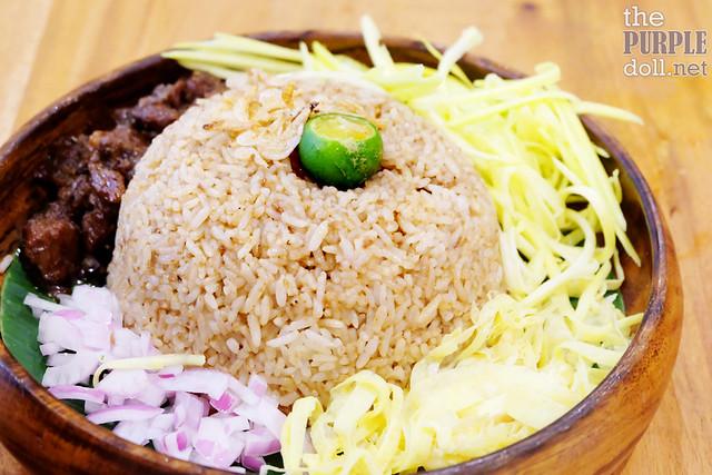 Kao Kluk Kapi (Bagoong Rice) (P220)
