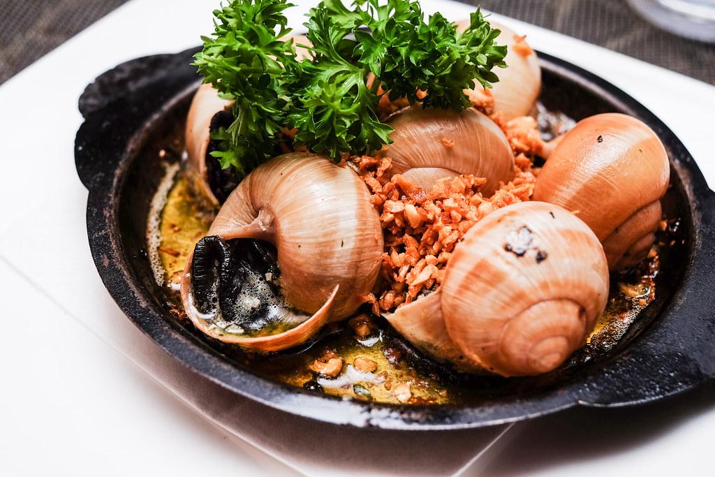 Mariners' Corner Restaurant: Escargots Gastronome