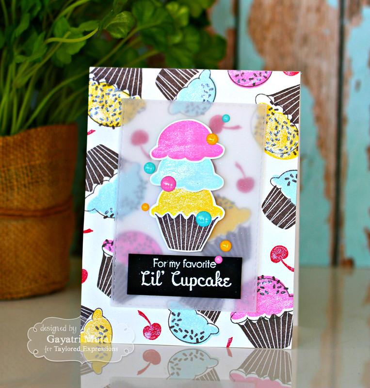 Lil' Cupcake card #1 by Gayatri Murali