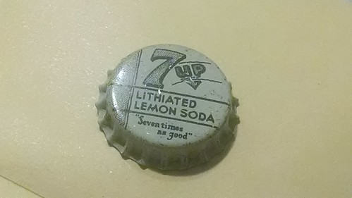 Lithiated 7-Up bottle cap | by nocturne826