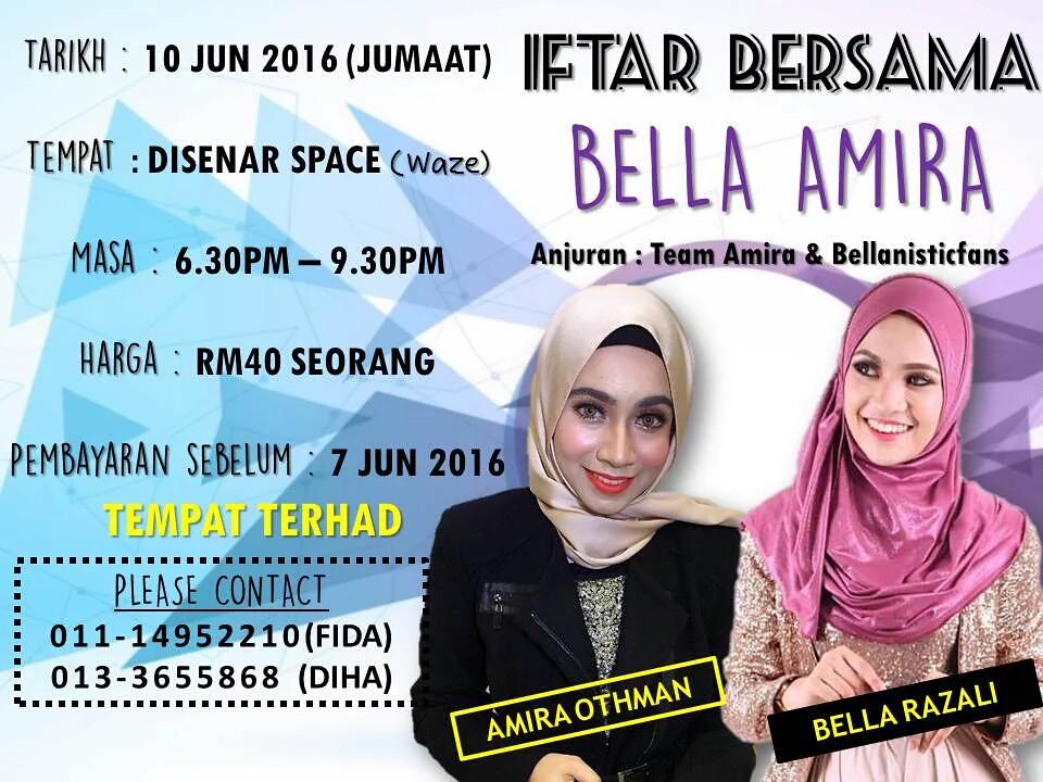 Majlis Iftar Bersama Bella Amira