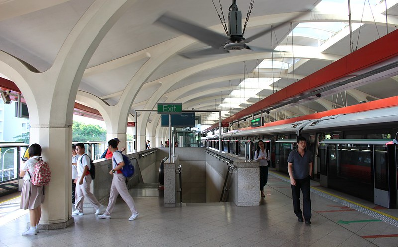 Tanah Merah station, Singapore
