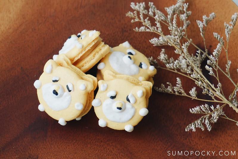 Shiba Inu Macarons